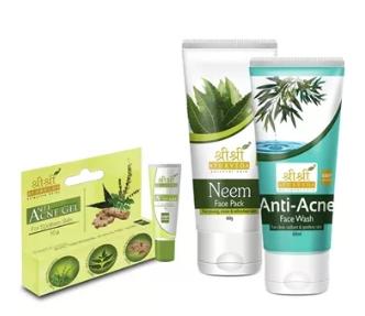 Tenha uma pele sem oleosidade - Kit Cuidados Antiacne