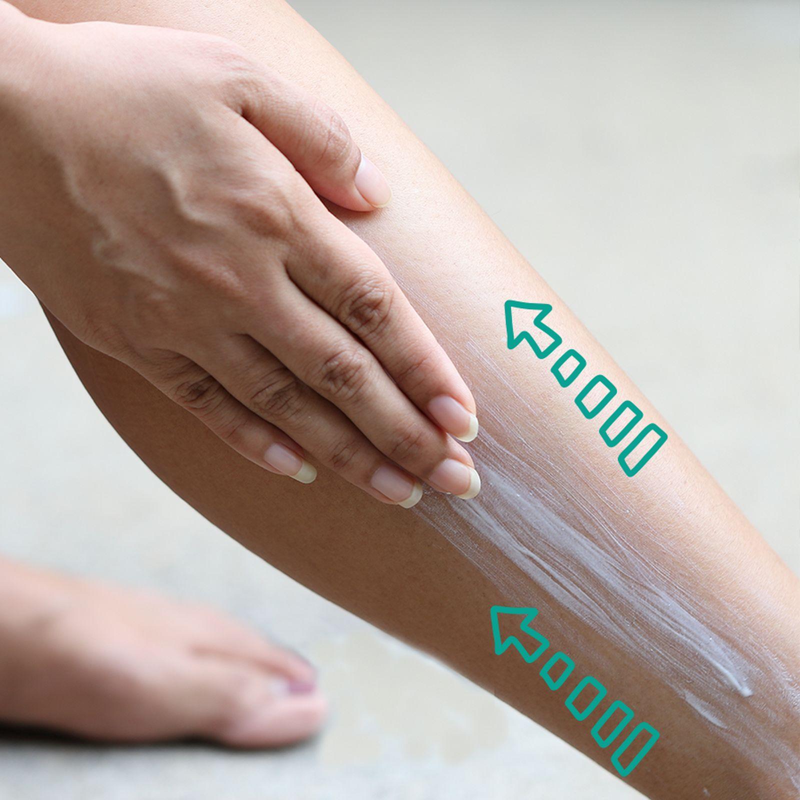 Massagem detox - braços